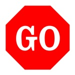 Go Stop Sign