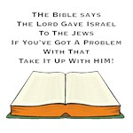 BIble Says Lord Gave Israel To Jews