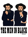 The Men In Black Funny Jewish Posters & Print