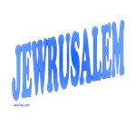Jewrusalem T Shirts and Gifts
