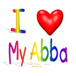 I Love My Abba T Shirts and Gifts