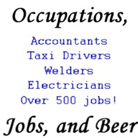 Occupations, Jobs, and Beer