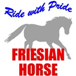 Ride With Pride Friesian Horse