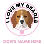 Personalized Beagle Dog T-Shirts