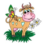 Cute Daisy Cow