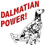 Dalmatian Power T-Shirt