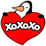 Valentine's Day Penguin