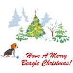 Have A Merry Beagle Christmas T-Shirts