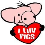 I Love Pigs T-Shirts