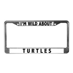 Turtle License Plate Frames
