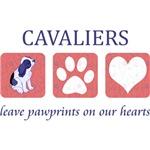 Cavalier King Charles Spaniel Pawprints