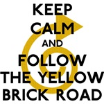 Keep Calm Yellow Brick Road