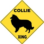 Collie Crossing Sign