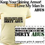 I Love My Man in DIRTY ABUs Tees and Gifts