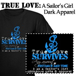 True Love: A Sailor's Girl Dark Apparel