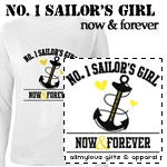 No. 1 Sailor's Girl T-Shirts and Gifts
