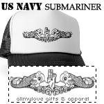 Navy Submariner T-Shirts and Gifts