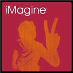 iMagine - peace - siloette