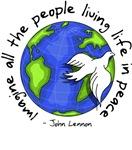 Imagine - World - Living In Peace