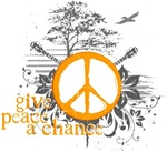 Give Peace Scene- Orange