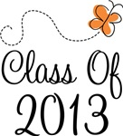 Class of 2013 Butterfly Graduate Gifts & Tees