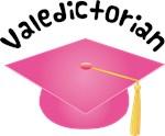Valedictorian Graduation Pink Hat