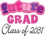 Class Of 2031 Future Grad T-shirts