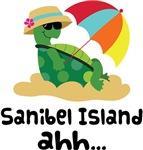 Sanibel Island Florida Turtle Tshirts