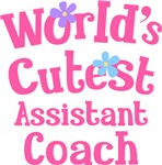Worlds Cutest Assistant coach Gifts and T-shirts