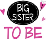 Big Sister to Be Butterfly T-shirts and Gifts