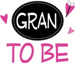 Gran to Be Butterfly T-shirts and Gifts