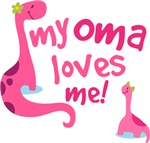 My Oma Loves Me T Shirts for Kids