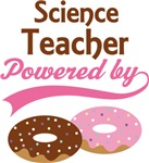 Science Teacher Powered By Donuts Gift