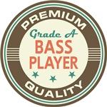 Bass Player Music T-shirts (Premium Quali