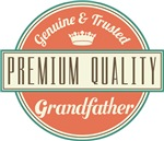 Premium Vintage Grandfather Gifts and T-Shirts