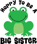 Hoppy to be a Big sister Gifts and T-shirts