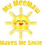 My MeeMaw Makes Me Laugh Kids Apparel