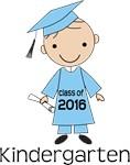 Class of 2016 Kindergarten Graduate