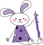 Oboe Bunny Music Tees