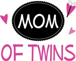 Mom of Twins Butterfly T-shirts and Gifts