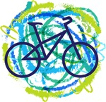 Bicycle Cycling Abstract sports t-shirts