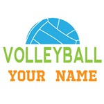 Personalized Volleyball Player T-shirts