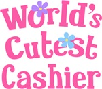 Worlds Cutest Cashier Gifts and Tshirts
