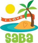 I Love Saba T-shirts