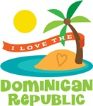 I Love The Dominican Republic T-shirts
