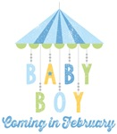Baby Boy Coming in February Due Date Maternity