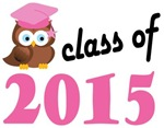 Class of 2015 Graduation Tee Shirts (owl)