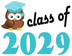 2029 Graduation Tee Shirts (owl)