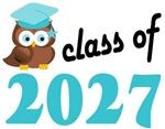2027 Graduation Tee Shirts (owl)