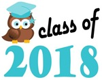 2018 Graduation Tee Shirts (owl)